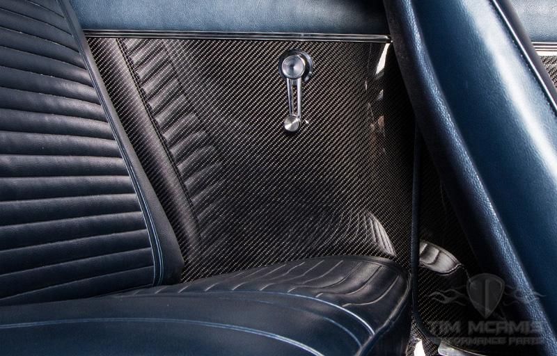68-69 Camaro Inner Quarter Panel