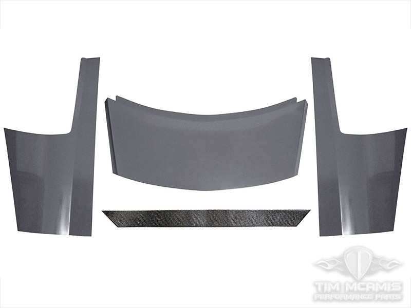 Carbon Fiber Wing Kit